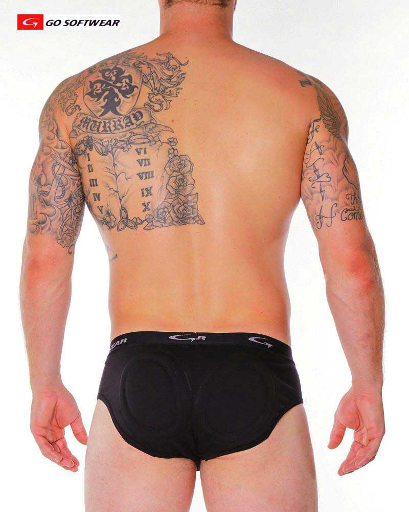 Go Softwear Enhancement Shaper Super Padded B. Brief Underwear Black 2717