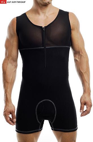 0af1da5736 Go Softwear M Body Shaper Bodysuit Black 2738  2738    Buy Men s ...