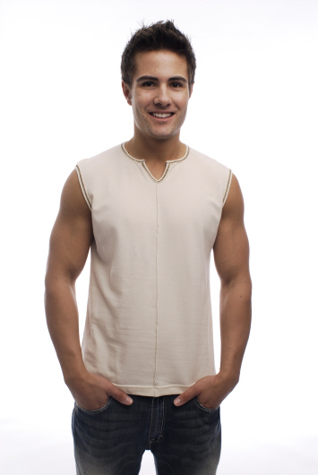 Go Softwear Go Natural Organic Cotton Sleeveless T Shirt 4417