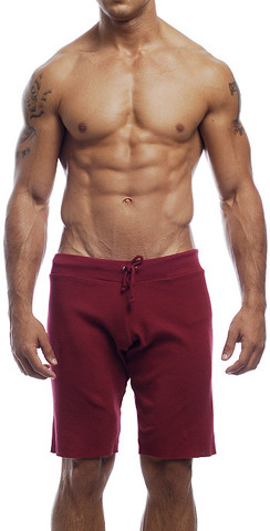 Go Softwear Overdyed Cut Off Shorts Cardinal 4656
