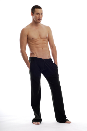 Go Softwear Overdyed Workout Gym Pants Black 4665
