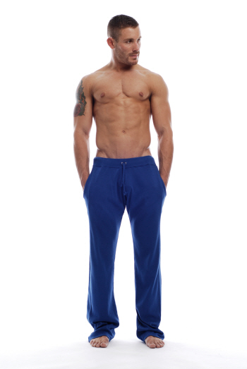 Go Softwear Overdyed Workout Gym Pants Cadet Blue 4665