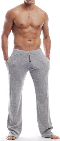 Go Softwear Overdyed Workout Gym Pants Heather Grey 4665