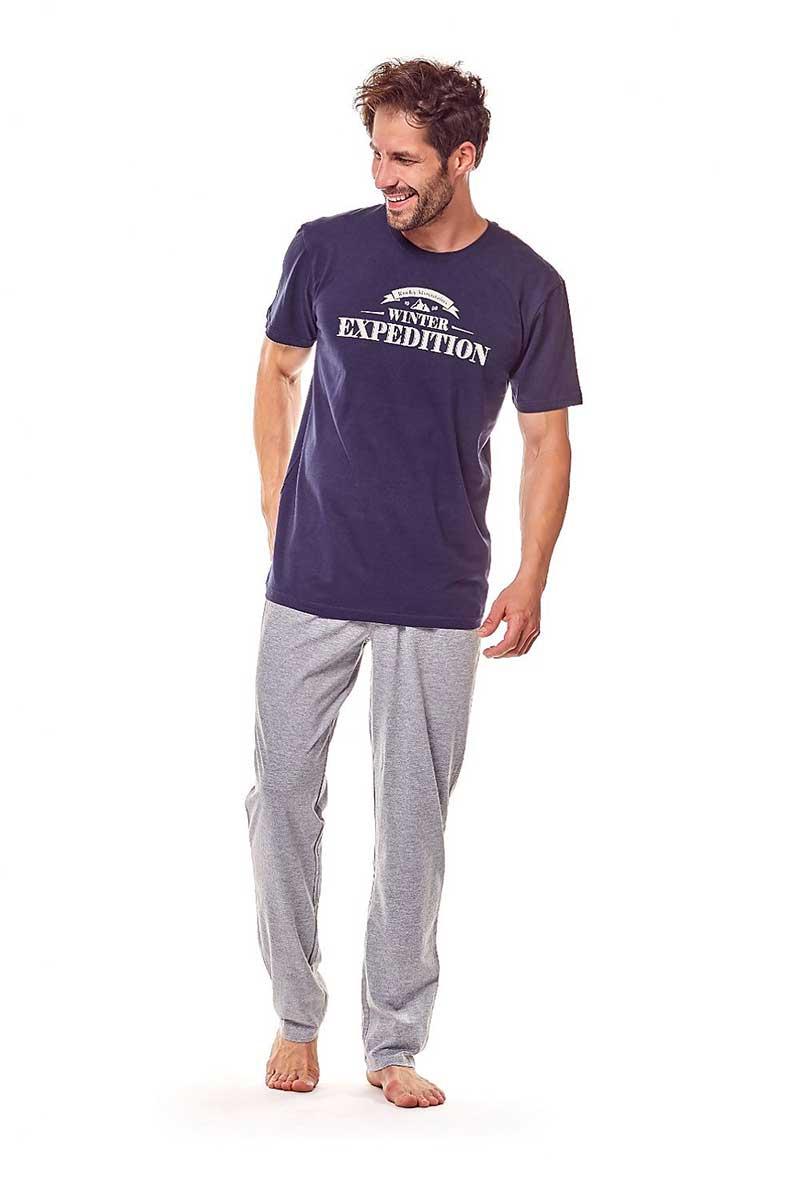 0ebb72787b Henderson Fiord 36206-59X Pyjama Short Sleeved T Shirt   Pants Loungewear  Navy Blue  121511    Buy Men s Fashion Online