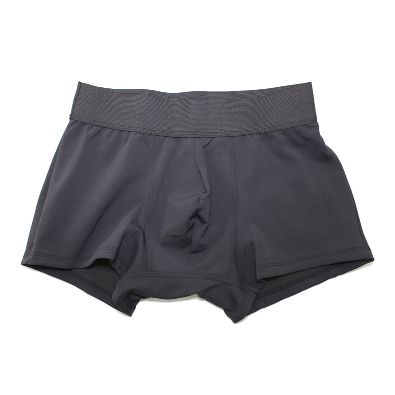 Hide & Cheek Compression Boxer Brief Underwear Black