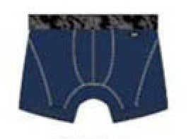 [2 Pack] Holeproof Explorer Cool Trunk Underwear Denim Blue MZF31A