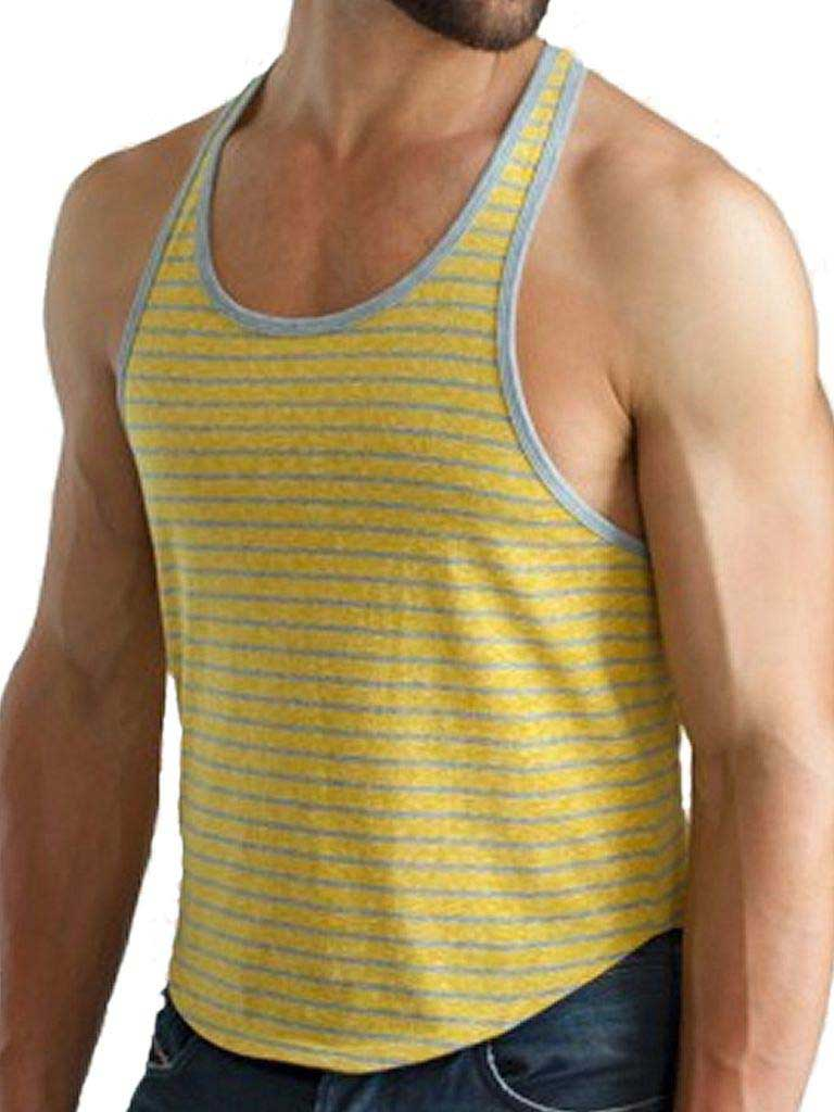 aadad319d19f8 Jack Adams Urban T Back Tank Top T Shirt Must Grey   Buy Men s ...