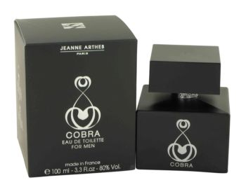 Jeanne Arthes Cobra Eau De Toilette Spray 3.3 oz / 97.59 mL Men's Fragrance 462993