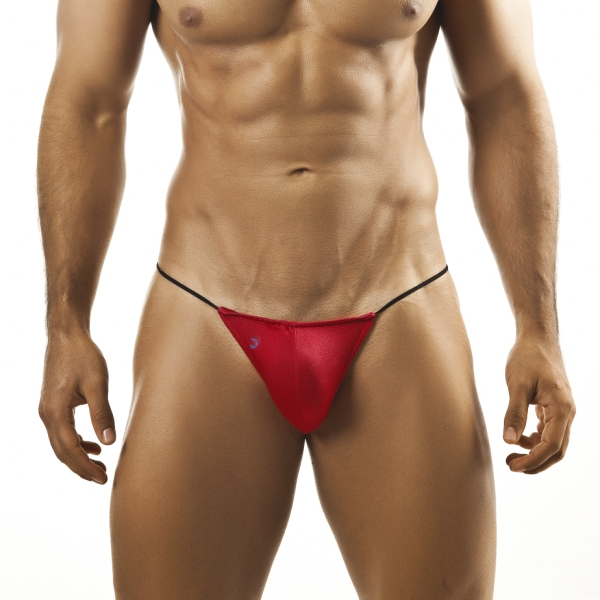 Joe Snyder G String 02 Red Underwear & Swimwear