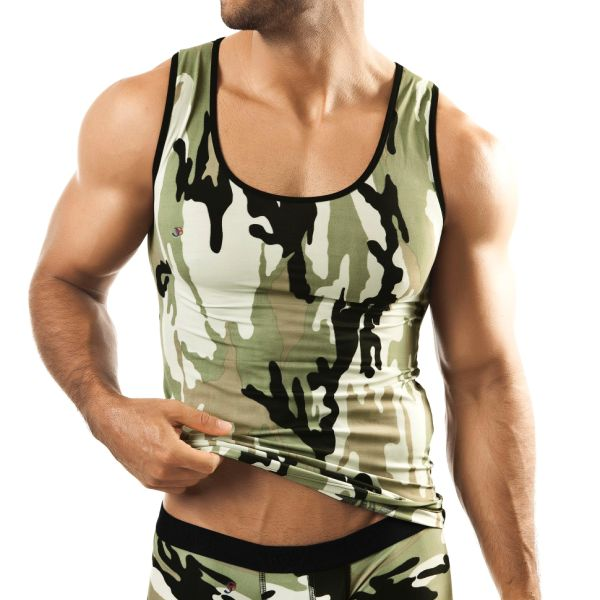 Joe Snyder Camo Tank Top 21CAMO T Shirt