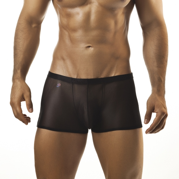 Joe Snyder Boxer Brief 08 Mesh Black Underwear & Swimwear