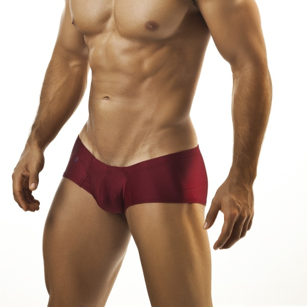 Joe Snyder Cheek Boxer Brief 13 Wine Underwear & Swimwear