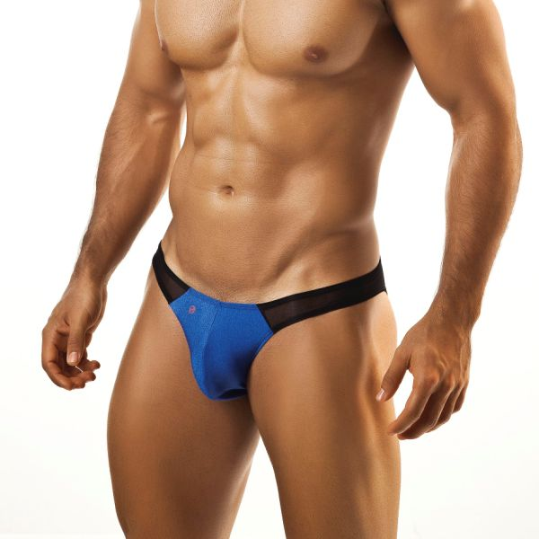 Joe Snyder Mesh Bikini 14 Royal Underwear & Swimwear