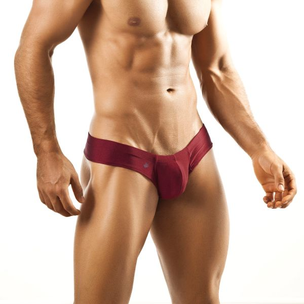 Joe Snyder Mini Cheek Boxer Brief 22 Wine Underwear & Swimwear