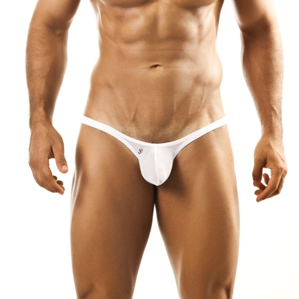 Joe Snyder Bulge Thong BUL02 Mesh White Underwear & Swimwear