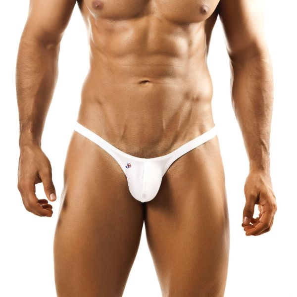 Joe Snyder Bulge Thong BUL02 White Underwear & Swimwear