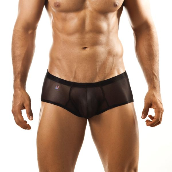 Joe Snyder Bulge Boxer Brief BUL03 Mesh Black Underwear & Swimwear