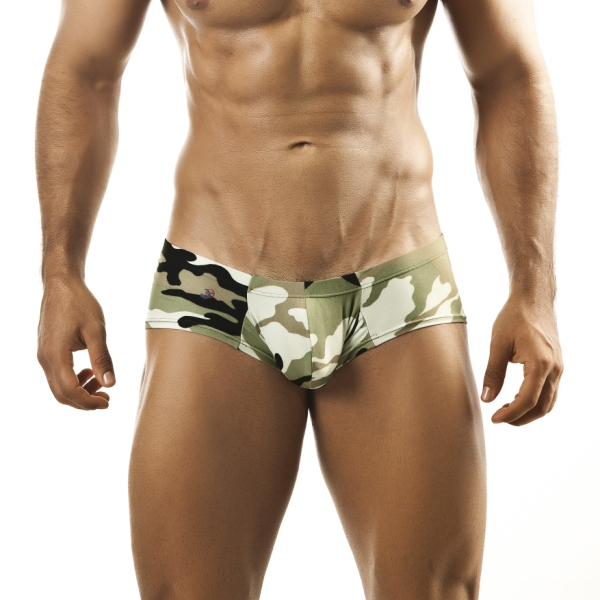 Joe Snyder Camo Bulge Boxer Brief BUL03CAMO Underwear & Swimwear