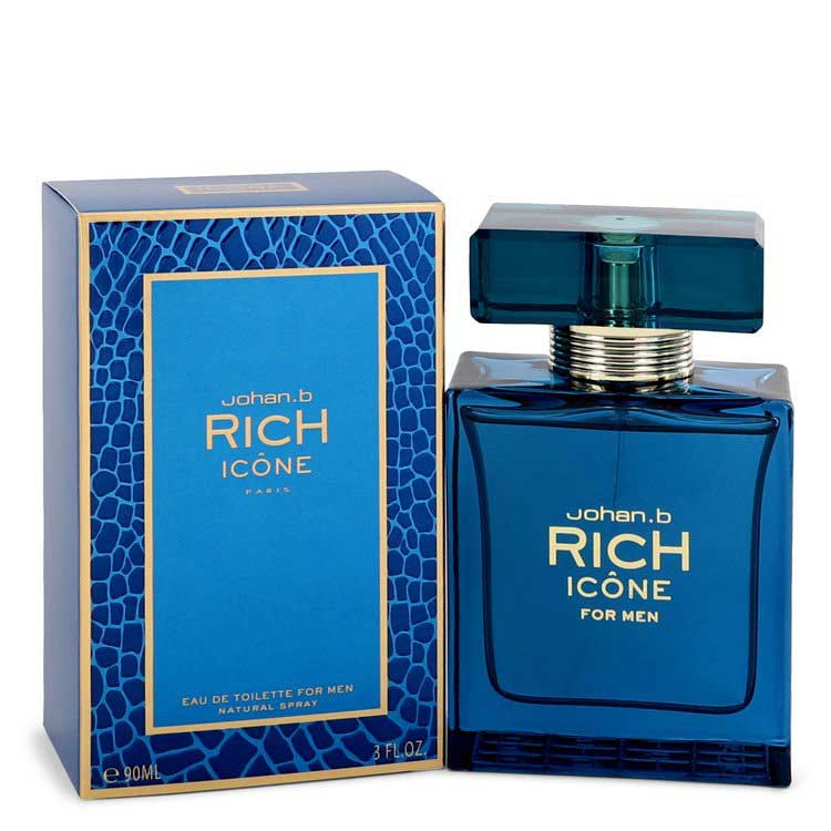 Johan B Rich Icone Eau De Toilette Spray 3.4 oz / 100.55 mL Men's Fragrances 545660