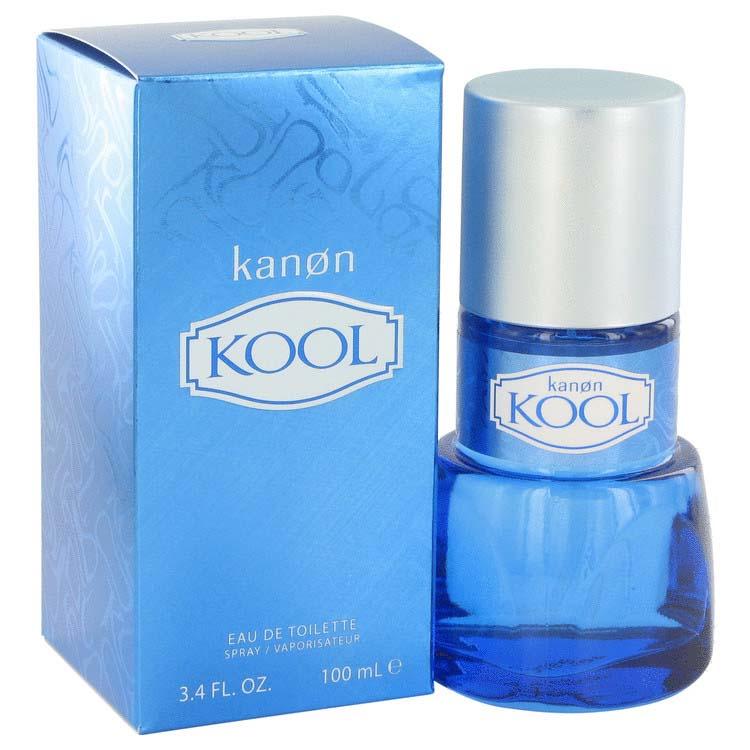 Kanon Kool Eau De Toilette Spray 3.4 oz / 100.55 mL Men's Fragrance 515549
