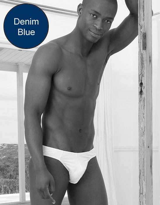 Kiniki Contour Brief Underwear Denim Blue CT8010