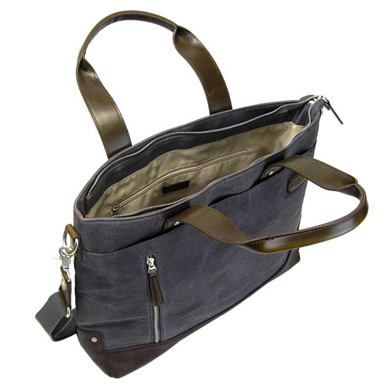 LICENCE 71195 College WaxC Shoulder Bag Grey