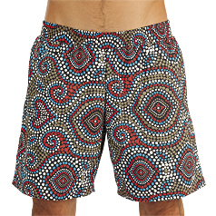Litex Printed Shorts Swimwear 76702