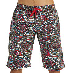 Litex Printed Boardshorts Beachwear 76700