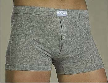 Lord Button Placket Boxer Brief Underwear 152