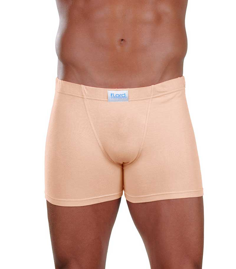 Lord Simple Boxer Brief Underwear Beige 1752