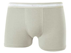 Lupo Cotton/Elastane Boxer Brief Underwear Light Grey 615-1