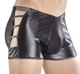 Male Power Extreme Cage Shorts Underwear Black 165-004