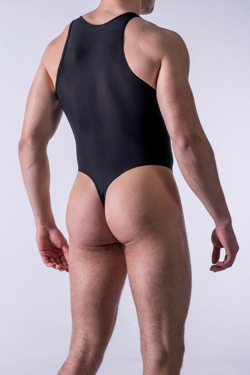 9ba298dcd7fd6 MANstore M101 String Bodysuit Black 2-06189 8000 NOS  2-06189 8000 ...