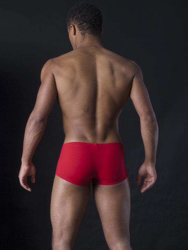 270034c6195 MANstore M200 Bungee Up Pants Boxer Brief Underwear Brick 2-08158/3508