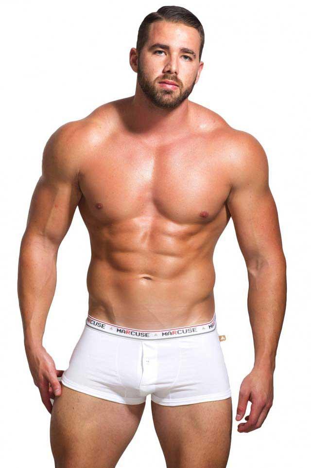 price reduced best shoes exquisite craftsmanship Marcuse United Boxer Brief Underwear White : Buy Men's ...