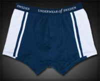 Underwear Of Sweden Boxer Brief Underwear Navy Blue
