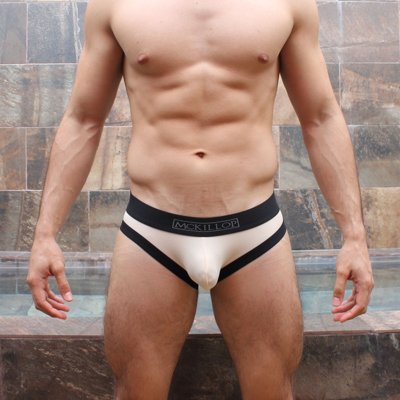 a169273fdc McKillop Bulge Envy Custom Brief Underwear Naked/Black BBDS-NK1 ...