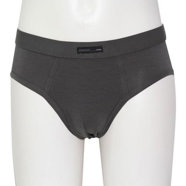 Minerva Tencel Slip Brief Underwear Graphite 21077
