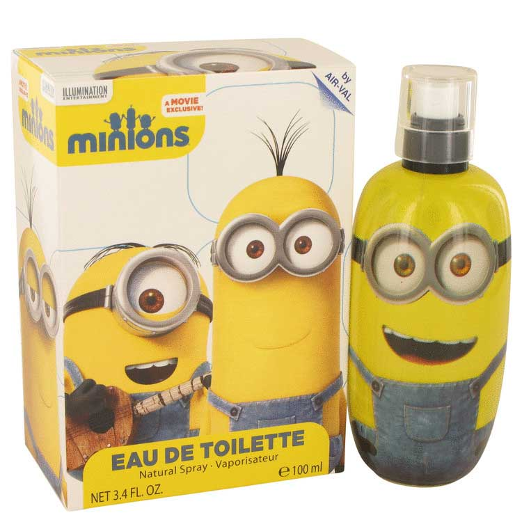 Minions Yellow Eau De Toilette Spray 3.3 oz / 97.59 mL Men's Fragrance 533724