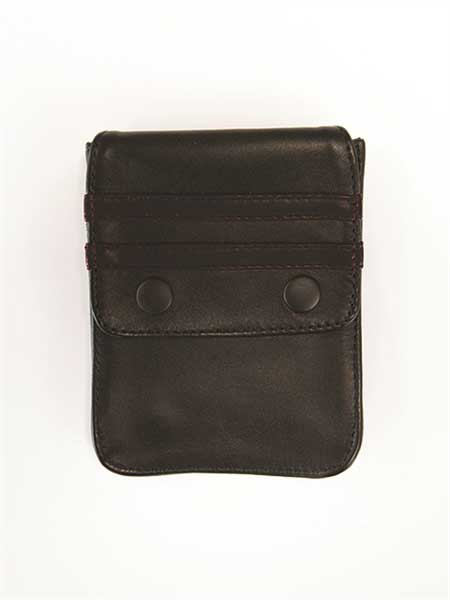 Mister B Harness Leather Wallet Black 601311 [601311] : Buy 's ...