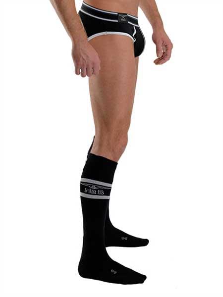 07636427c3cd1 Mister B Urban Football Pocket Socks Black 820100 [820100] : Buy ...
