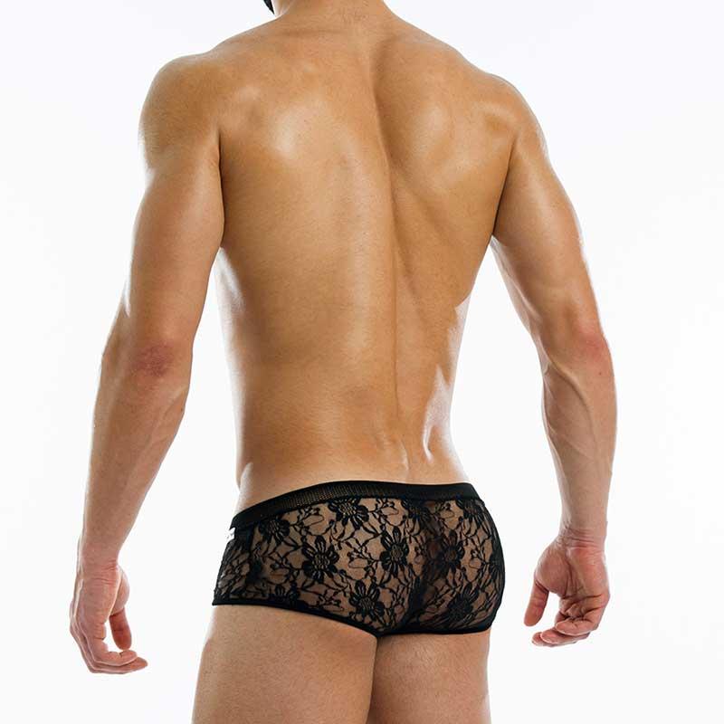 c151063acf232 Modus Vivendi Lacenet Brazil Cut Boxer Brief Underwear Black 08613 ...