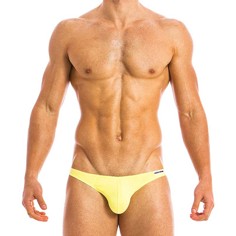 e130cf9873e8 Modus Vivendi Eggs Bottomless Jock Brief Jock Strap Underwear Yellow 09812