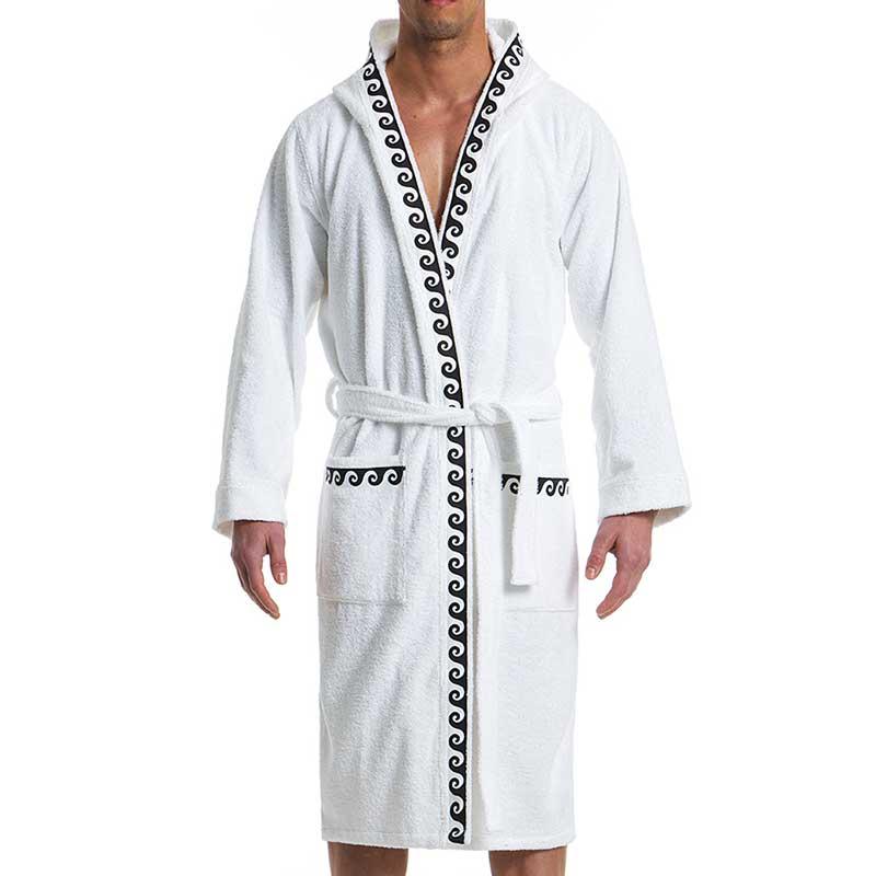 Modus Vivendi Iconic Bath Towel Robe Loungewear White 10751  10751 ... 59a4294f2