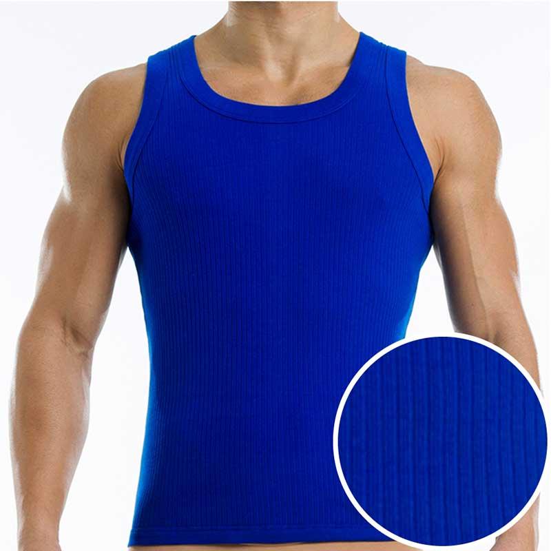 c40b90a246777 Modus Vivendi Broaded Tank Top T Shirt Blue 14631  14631    Buy ...