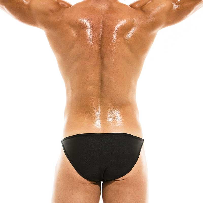 d7da58edd3e Modus Vivendi Bodybuilding Low Cut Bikini Swimwear Black BS1911 ...