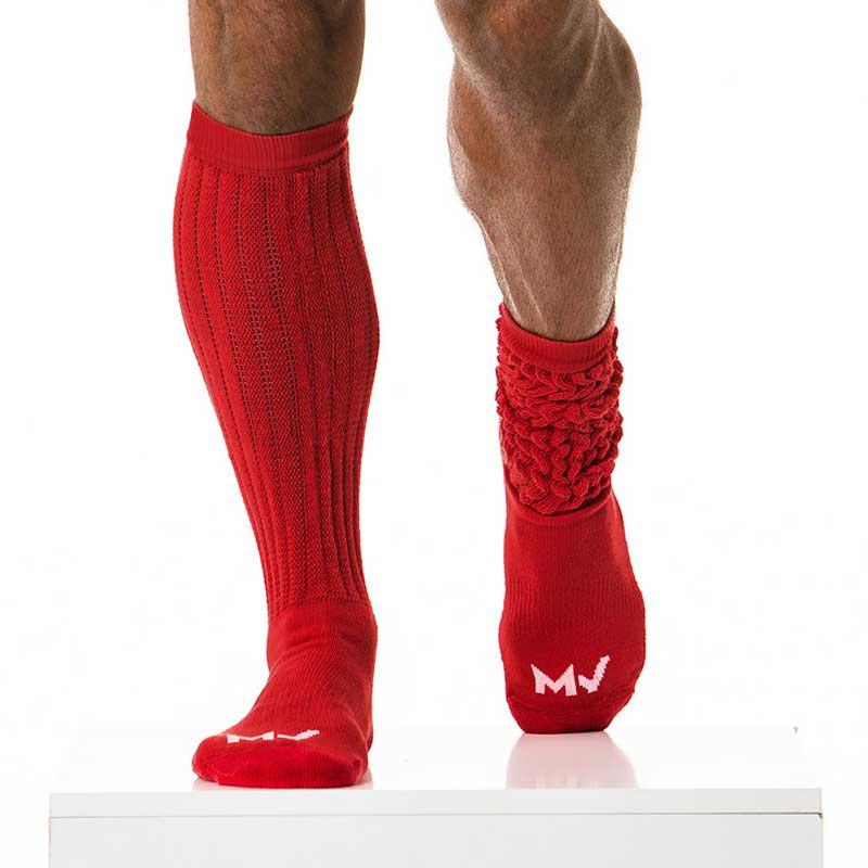 d2c18d52bbaaf Modus Vivendi Long Socks Red XS1814 [XS1814] : Buy Men's Fashion ...