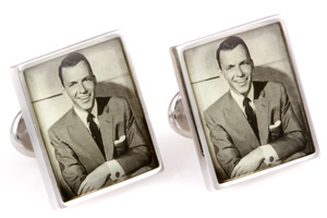 Mousie Bean Photo Cufflinks Frank Sinatra 1031-1