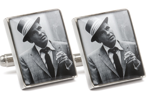 Mousie Bean Photo Cufflinks Frank Sinatra 1031-2