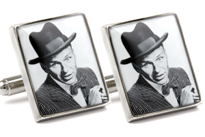 Mousie Bean Photo Cufflinks Frank Sinatra 1031-3